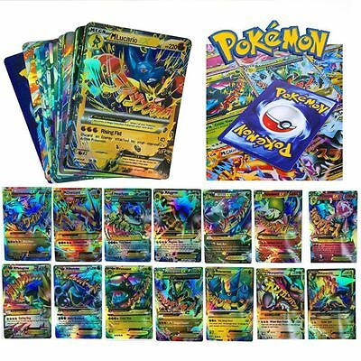 18PCS Pokémon EX Card All MEGA Holo Trading FlashCards Charizard Venusaur Gifts
