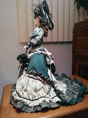 """Franklin Heritage Mint -Kathleen of County Kerry 22"""" Porcelain Doll  musical"""
