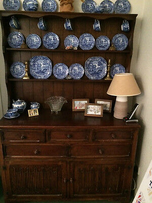 Antique dark oak dresser