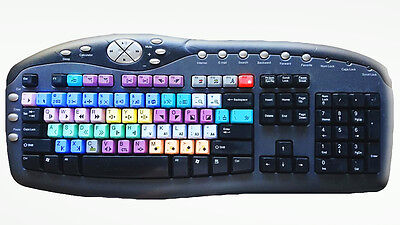 Pro USB Video Editing Keyboard For Grass Valley Aurora Edit (RRP $124!)