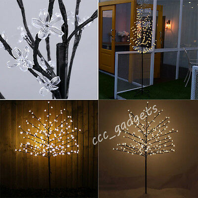 5Ft 1.5M Indoor Outdoor 180 Led Blossom Tree Christmas Cherry 150Cm Lights Trees