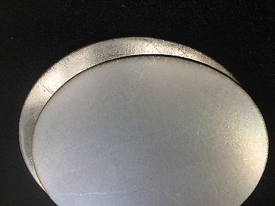 Galvanised Steel Circle / Disc (Various Diameters and Thickness in mm)