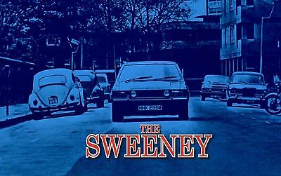 The Sweeney Cult Novelty Fridge Magnet Version 2 -  in Two Sizes