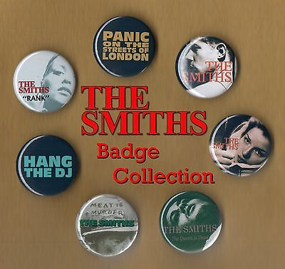 The Smiths 31mm Badge Collection Set 1 - Morrissey