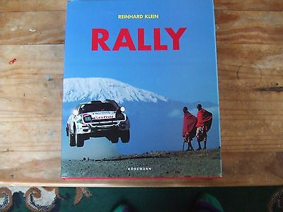 RALLY by Reinhard Klein Large Format Book Published by Konemann 1988