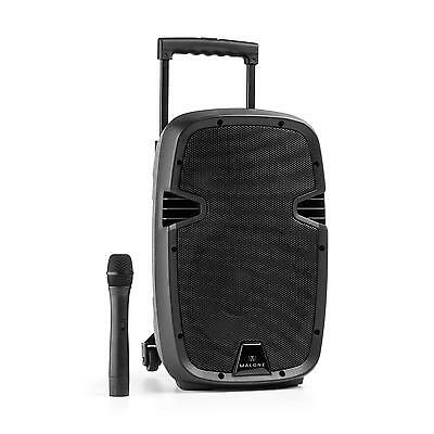 Portable Dj Pa System Hifi Speaker Trolley Microphone Bluetooth Subwoofer Audio