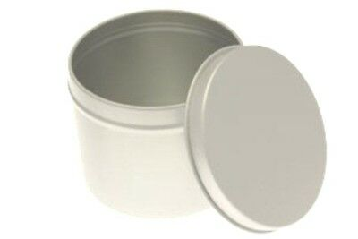 Candle tins 200ml box of  50 for creating your own bespoke Container Candles