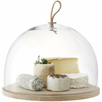 LSA Ivalo Cake/Pastries/Cheese Dome on Ash Base - Wonderful Gift