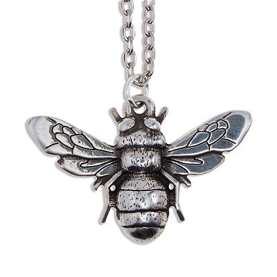 Bee Pendant in Cornish Pewter by St Justin PN885