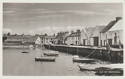 Isle Of Whithorn - The Quay - Wigtownshire  -   Real Photo Postcard