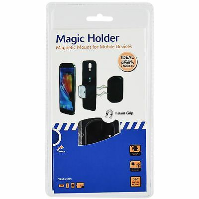 Magic Holder Magnetic Mobile Phone Cradle Free Design Device Mount Instant Grip