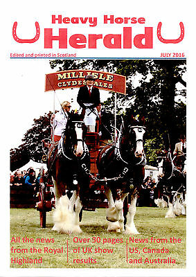 Heavy Horse Herald Magazine Subscription - 12 months