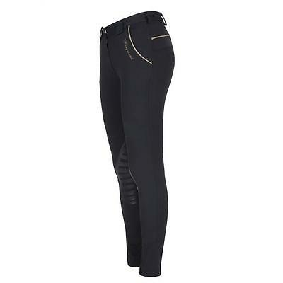 Navy Kingsland Lizzi Breeches With Silicon Knee Grip - Size 40 (UK 14)