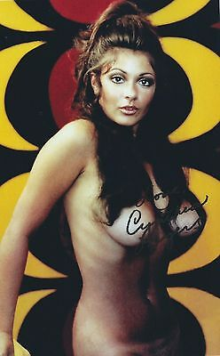 CYNTHIA MYERS (Deceased) Dec 1968 PLAYBOY PLAYMATE (VINTAGE) SIGNED RP 8X10