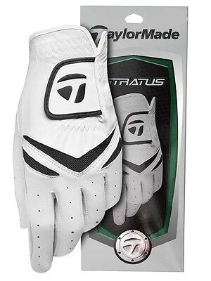 TaylorMade Stratus Golf Glove - Left Hand Glove for Right Hand Player Med size