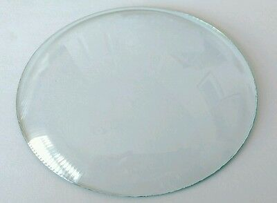 Round Convex Clock Glass Diameter 5 4/16'''