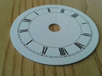 Clock Dial 85mm Roman Enam