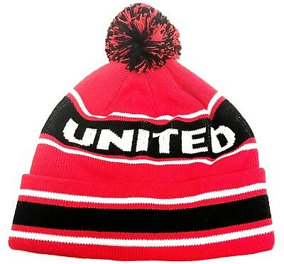 Manchester United Hat Beanie Official Football Club Gifts