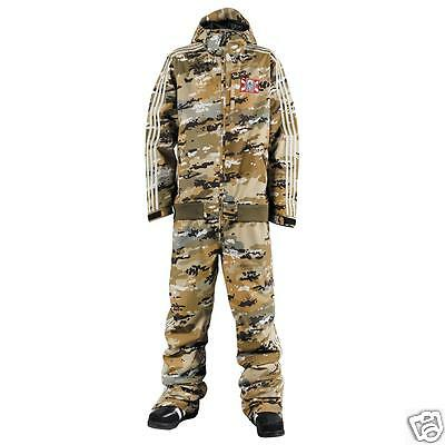Adidas Originals Kazu Kukobu Firebird One-Piece Snow Suit XL Ski Snowboard Camo