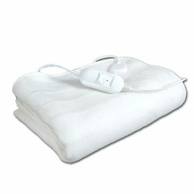 Electric Under Blanket Heated Cover Single Double King Size Dual Control Throw