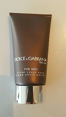 Dolce & Gabbana The One For Men Aftershave Balm 75Ml Brand New Free P&p