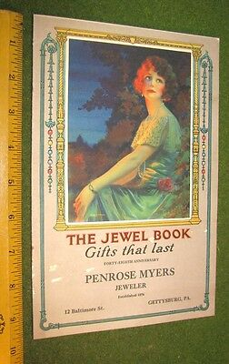 1925 The Jewel Book Penrose Myers Catalog Calendar Gettysburg Pa