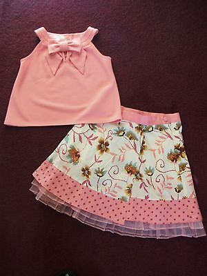 Girls Skirt&Top/Aged 8-9 Years