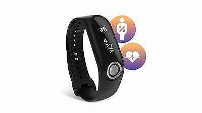 TomTom Touch Body Composition Fitness Tracker - Black, Large