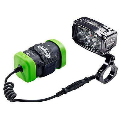 Hope R8+ Vision LED Front Light - 6 Cell ES Battery - UK Charger - Mountain Bike