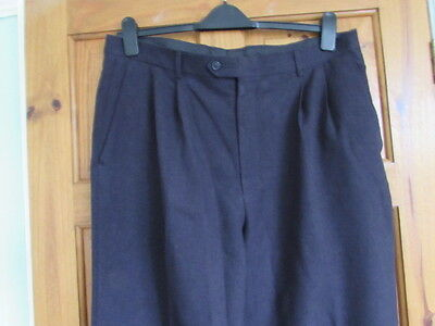 claiborne northern soul / 50s twin pleated turn up trousers W  38 X L 30