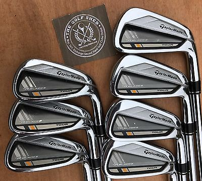 TaylorMade ROCKETBLADEZ TOUR Irons 4 - PW  - KBS TOUR SHAFTS - 1/2 INCH LONGER