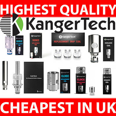 Kangertech Authentic Coil All Type Here Ceramic Clapton Nickel All Ohm 24Hr Post