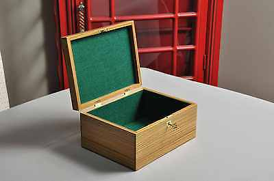 The Original Staunton Reproduction Chess Box - Handcrafted out of Lignum Vitae