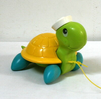 Tortue à tirer Fisher Price vintage