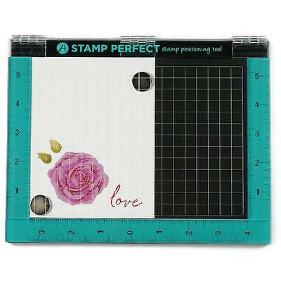 Hampton Art Stamp Perfect Tool with Pad &  Magnets NEW For Stampin Up