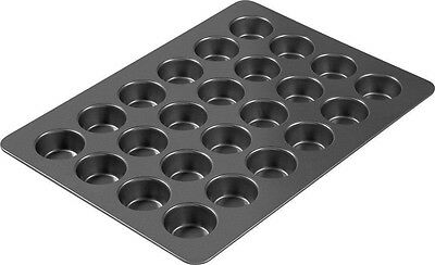 Oven Muffin Tray Cupcake Cookie Baking Pan Non Stick Mold Large Bakeware 24-Cup
