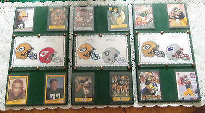 #1, #2 & #31 Packers Superbowl Plaques