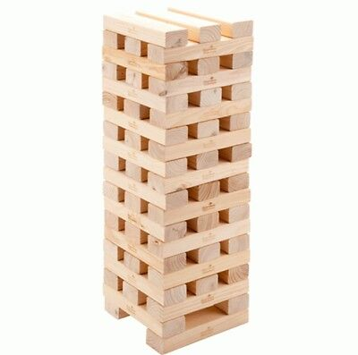 New Wooden Giant Garden Tumbling Tower Blocks Game Fun Party Family Outdoor