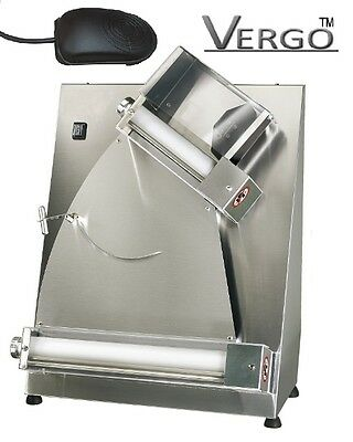"""USED Vergo Italian 16"""" Pizza Dough Roller Commercial Kitchen with Foot pedal"""