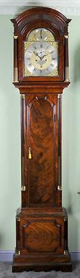MAHOGANY LONDON LONGCASE GRANDFATHER CLOCK - Sublime quality