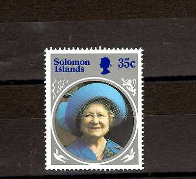 Solomon Islands QEII  1985 SG740 Queen Mother 35c MNH