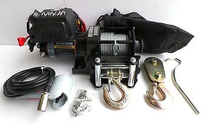 2000lb WARRIOR NINJA 12v Winch for ATV, Trailer etc