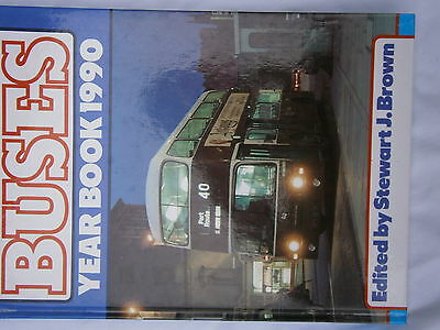 Classic Buses  Year Book 6 2000 Gavin Brown Hardback Bus Book 128 Pages