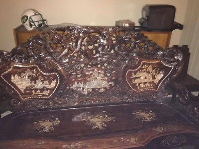 Antique mother of peral Chinese furniture