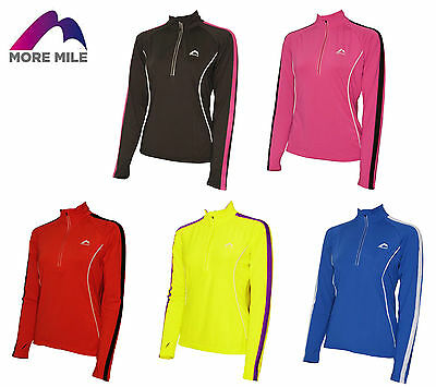 More Mile Ladies Womens Running Top Long Sleeve Cycling Jogging Top RRP £17.99