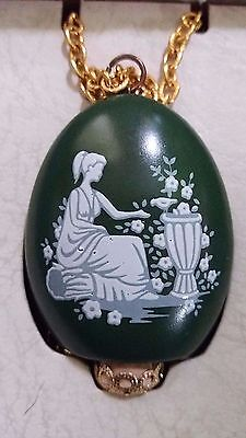 Lord Nelson Pottery Pomander Jewellery Pendant Staffordshire England
