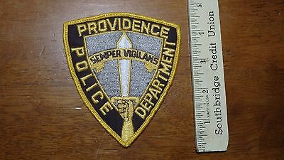 Providence Rhode Island  Police  Department  Patch Obsolete  Bx A #46