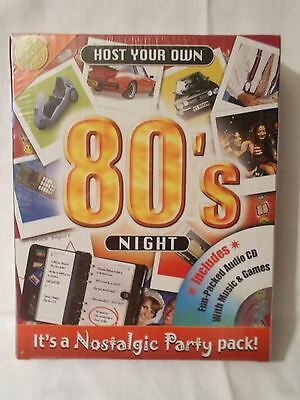 HOST YOUR OWN NOSTALGIC PARTY PACK – 80's NIGHT