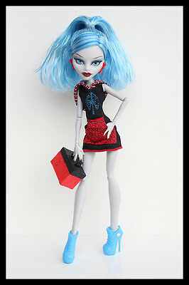 Monster High, scaris, puppe, ghoulia yelps, doll