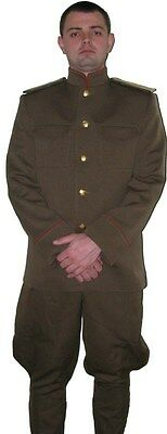 Russian Imperial Army WWI Infantry officers uniform M1914 WW1 Repro Custom-made